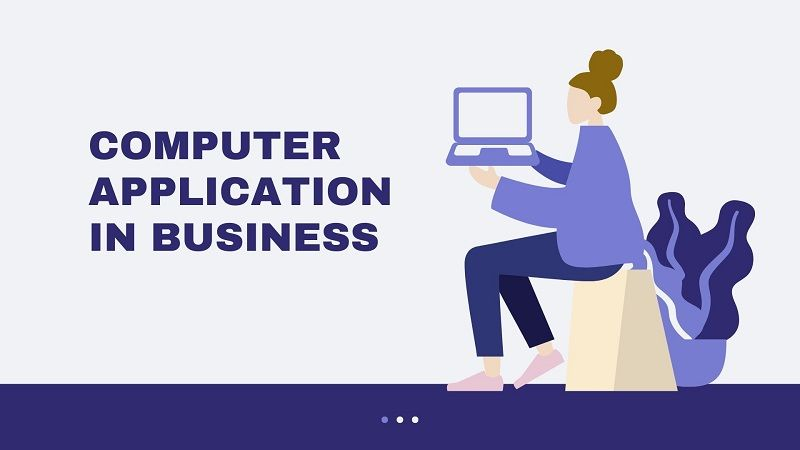Computer Application In Business