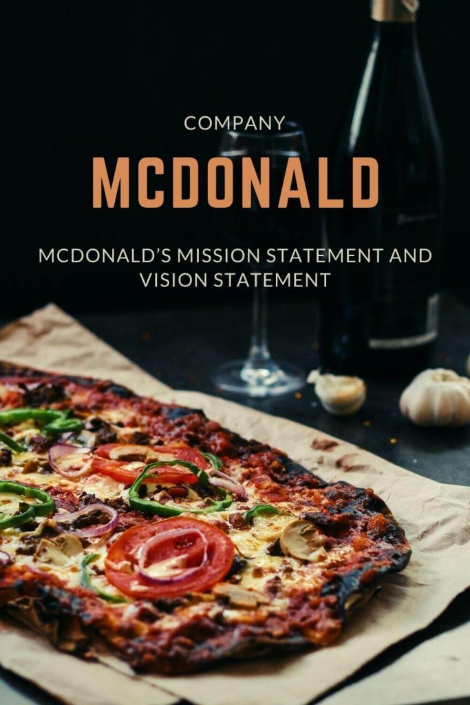 mcdonald mission and vision statement