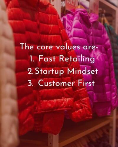 The core values of Uniqlo HD Text Image Download